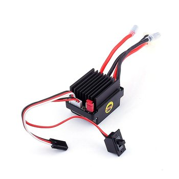 цены RC Ship & Boat R/C Hobby 6-12V Brushed Motor Speed Controller ESC 320A Brushed Motor Speed Controller for RC Boat Car Model