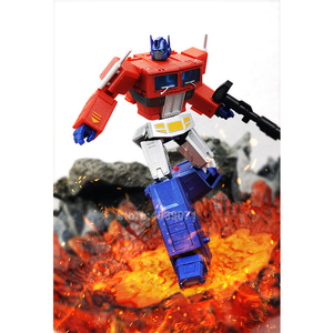 Image 3 - MS Toys Action Figure Toys MSB18X MS B18X Small Proportio Metal Color OP Commander Truck GiantCountry Deformation Transformation