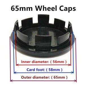 4 шт. 56 мм 60 мм 65 мм 68 мм без логотипа крышки обода Центральная втулка колеса автомобиля колпачки для вставки колеса центр наклейка значок эмблема аксессуары
