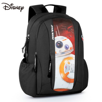 Disney Star Wars elementary school bag 4-6 junior high school youth backpack white soldier anime black butler cosplay backpack anime two elementary elementary junior high school student bag girls shoulder bag backpacker