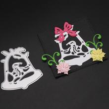 Bell cutting mold embossing card scrapbooking album decoration metal crafts.
