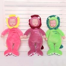 Animal-Toys Plush-Doll Baby PRINCESS Kids for 25CM Reborn Eyes JINGXIN Silicone-Face