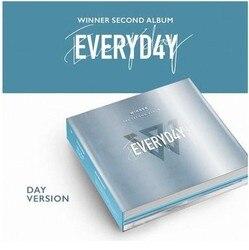 [Kpop] 100% dziennik oryginalny-zwycięzca drugi ALBUM: EVERYD4Y  Album CD-SA19080302  dzień Ver