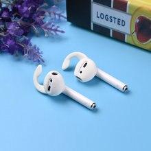 Crochets d'oreille en Silicone, casque sans fil antidérapant, protecteur d'écouteurs pour Airpods 6 pièces/3 ensembles