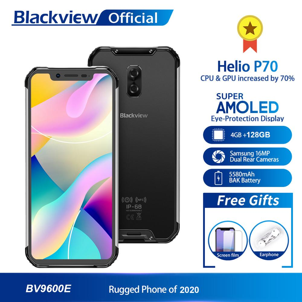 Blackview Helio P70 BV9600E New Waterproof 128GB 4GB Nfc Adaptive Fast Charge Wireless Charging