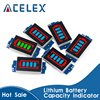 1S 2S 3S 4S Single 3.7V Lithium Battery Capacity Indicator Module 4.2V Blue Display Electric Vehicle Battery Power Tester Li-ion