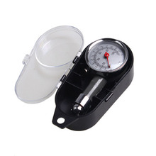 High precision automotive tire pressure gauge box multi-function display