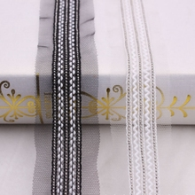 цена на 1Yards/Lot Chain Lace Ribbon beaded Lace African Lace Fabric Fringe Embroidered Lace Handmade Fringe Dress Skirt Lace Material
