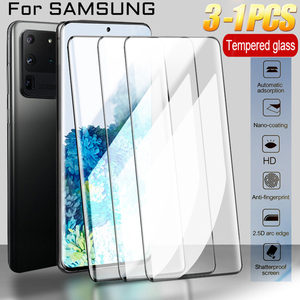 Tempered Glass For Samsung Galaxy S10 S20 Note 10 Plus S 8 9 10 Screen Protector A51 A50 S8 S9 Plus S20 Ultra Protective Glass