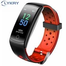 Lykry Q8L Smart Horloge Mannen Vrouwen Hartslagmeter IP68 Waterdichte Fitness Tracker Horloges Voor Xiaomi Huawei Apple Telefoon Pk q8s