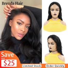 13x2 Lace Front Human Hair Wigs 10-26 Inch pre plucked 150% Density Brazilian Body Wave Lace Front Wigs For Black Women