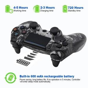 Image 3 - Mando inalámbrico Bluetooth para Sony PS4/PS3, mando con cable USB para Dualshock 4, Joypad para PlayStation 4