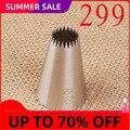 Пшеница фу 299 #22 зубы мелкий зуб крем украшения рот 304 нержавеющая сталь инструменты для выпечки «сделай сам» средний