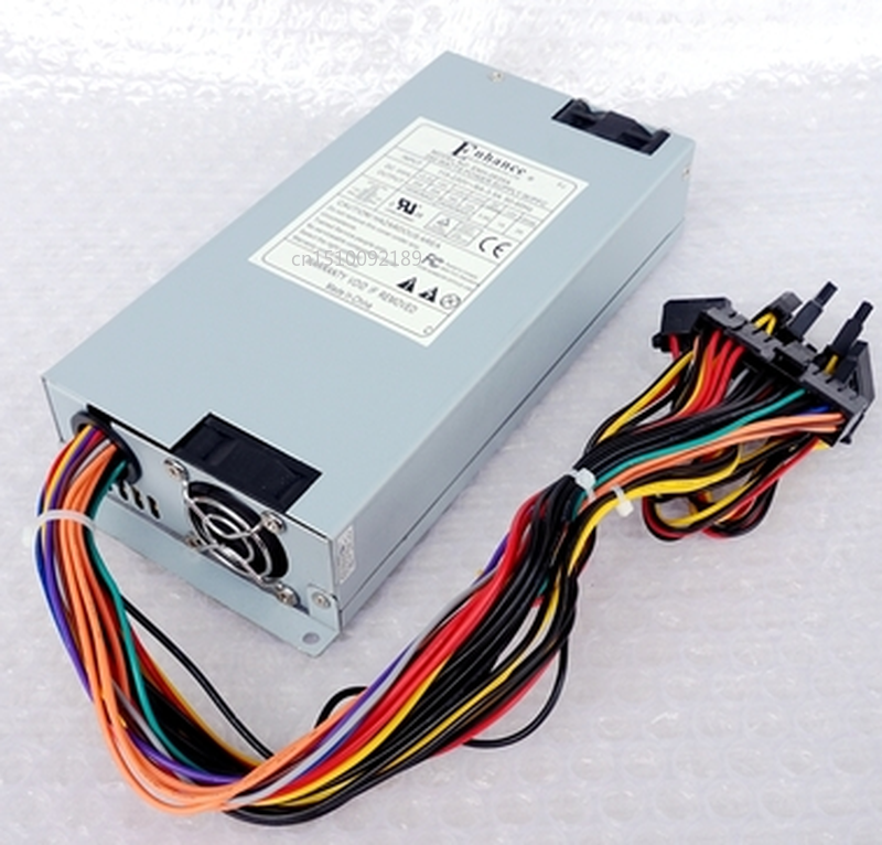 Free Shipping 1pcs NEW Standard 1U Power Supply ENH-0635A Rated 350W Industrial Computer Game Machine Power Supply