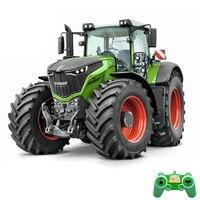 RC Traktor 1/16 RC Lkw Traktor 2,4G Fernbedienung Anhänger Dump/Rake/Wasser Truck Simulierte Große bau Fahrzeug Spielzeug