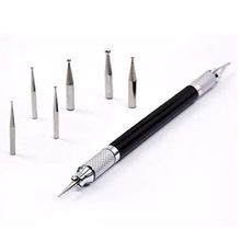 Stylus Tipped Dotting-Pen Embossing-Carving-Stylus Leather-Craft-Tool Modeling-Point-Pattern