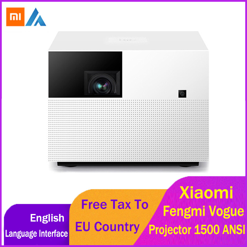 Xiaomi Fengmi Vogue DLP Projector 1500ANSI Lumens 2GB 32GB MIUI TV Smart Home Theater Projector Support Side Projection