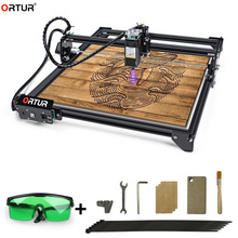ORTUR Laser Engraving Cutting Machine DIY Easy Installation Connect to Computer Support Laser GRBL For Plywood Acrylic Cutter
