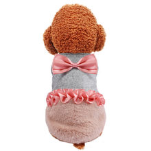 Dog Clothes Pet Keep Warm Elegant Skirt Autumn And Winter Fashion Cat Dog Clothing Mascotas ropa perro Accessories Puppy Dress(China)