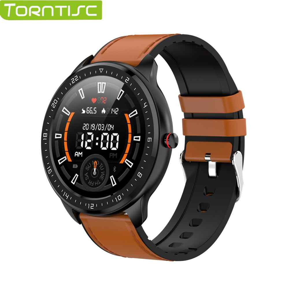 Torntisc Z06 Full Touch Screen Smart Watch Men Waterproof Heart Rate Blood Pressure Monitor For Android Apple Phone Smartwatch