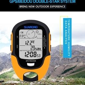 Image 4 - الرقمية لتحديد المواقع المقتفي مقياس الارتفاع البوصلة بارومتر ضغط الهواء ارتفاع البيانات LCD مقياس حرارة خارجي التخييم التنزه تسلق أدوات