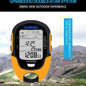 Image 4 - דיגיטלי GPS Tracker מד גובה אוויר גובה לחץ נתונים LCD חיצוני מדחום קמפינג טיולי טיפוס כלים