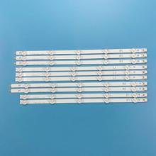 """Striscia di Retroilluminazione A LED Per LG 42 """"TV 42LN519C 42LN549C 42LN541C 6916L 1402A 6916L 1403A 6916L 1404A 6916L 1405A 42LN549E"""