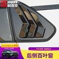 Adequado para toyota 2020 quinta geração rav4 modificação exterior de fibra carbono padrão proteção para janela traseira