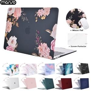 MOSISO Hard Case Cover For Macbook Air 13 Retina Pro 13 15 Touch Bar A2159 A1706 A1989 A1707 2019 2020 New Air 13 A1932 A2179