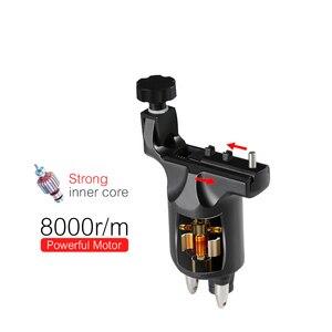 Image 3 - スティグマタトゥーマシンロータリー調整可能なシェーダとライナーのための rca コード強力なモーター 8000r/m 強力なストローク直接ドライブ M648