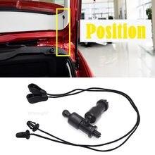 Wooeight preto em diante pacote prateleira fixação cintas cabo corda grampos grampos cabide 4m51a466k45ac apto para ford focus mk2 ii 2011