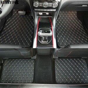 Universal Car floor mats for Renault Scenic Fluence Latitud Laguna Megane cc Talisman 5D car styling carpet floor liner(China)