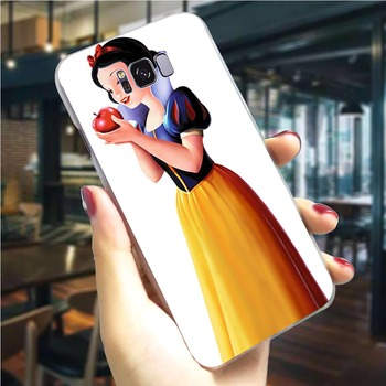 Phone Cover For Samsung S10 Plus Snow White Case Note 8 9 M10/M20/M30 Galaxy S6/S7 Edge S8/S9/S10 Plus S10e image