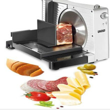 Rice cake fruit and vegetable mutton slicer household electric semi-automatic small cut mutton roll beef sliced meat WF1015