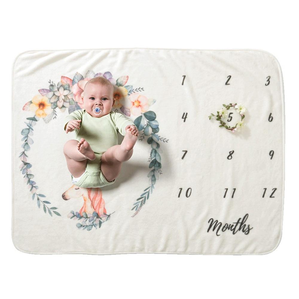 Thick Autumn Winter Soft Cute Baby Blanket Baby Flannel Luxury Newborn Stroller Envelope Warm Soft Bebe Bedding Blankets