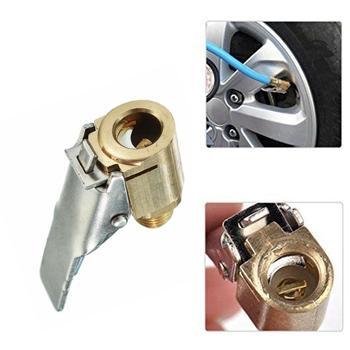 Adaptador de boquilla inflable de latón para coche, 1 Uds., Clip de boquilla para bomba de coche, conector para neumático, accesorios para cambio de neumático, adaptador G5S2