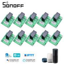 10 個sonoff RE5V1Cリレーモジュール 5v無線lan diyスイッチインチング/selflock作業モードアプリ音声リモコンalexaのためgoogleホーム