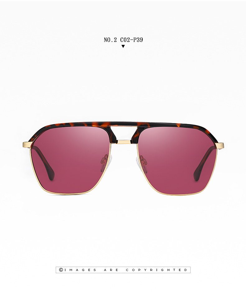 Classic Pilot Polarized Sunglasses Men Coating Mirror Sport Retro Sun Glasses Men Ride Travel Driving Fishing Eyewear Male UV400 (12)