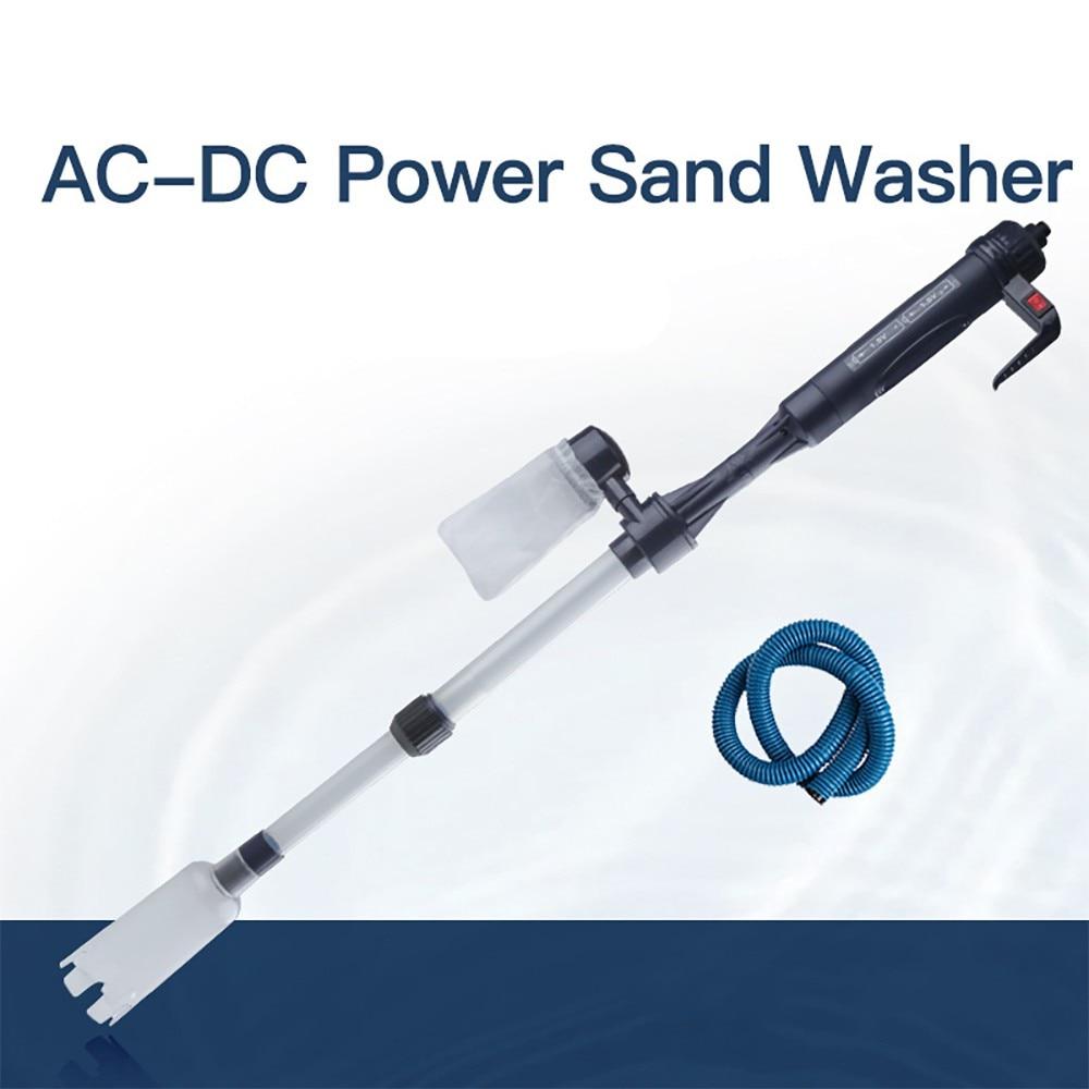 New Aquarium Electric Siphon Clean Tools Vacuum Sand Washer Fish Tank Water Change Water Filter Pump Cleaner Pump Aquar Accessor