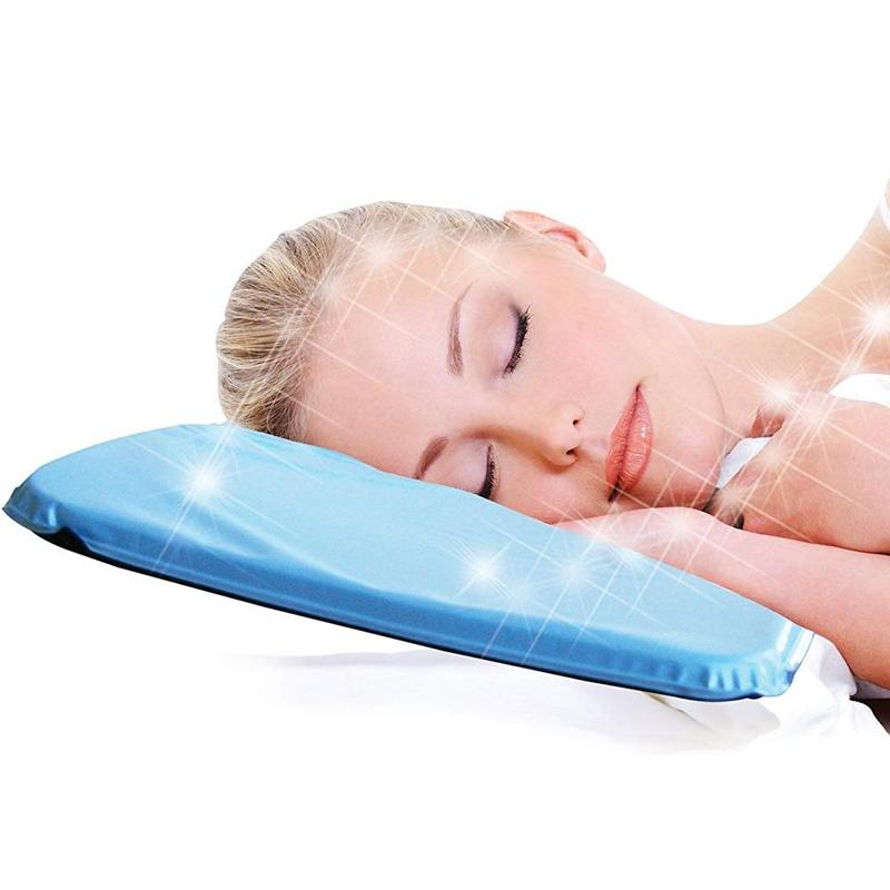 Summer Therapy Insert Sleeping Aid Pad Mat Muscle Relief Cooling Gel Cushion Ice Pad Massager Water Pillows Added