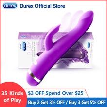 Grand vibrateur pour femmes Silicone G Spot gode lapin Vibrador double masseur vagin Clitoris stimuler Sexo baguette magique Sex Toys