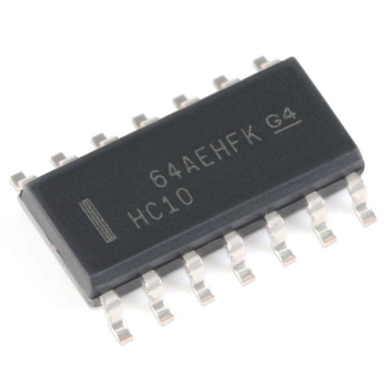20 pces smd sn74hc10dr SOIC-14 três-way 3-entrada positivo e não-portão de integração eletrônica da microplaqueta lógica