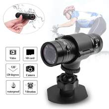 Bicicleta Full HD 1080P Mini deportes DV Cámara motocicleta casco acción impermeable DVR Video Cam perfecto para exteriores deportes(China)