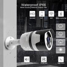 wifi outdoor IP camera 1080P 720P waterproof 2.0MP wireless security camera metal two way audio TF card record P2P bullet vstarcam c7815wip 1 0 mp 720p outdoor waterproof wireless ip network camera w onvif2 0 tf us plug