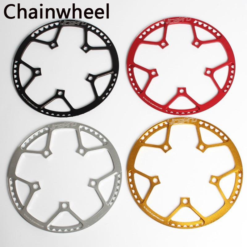45 47 53 56 58T BCD 130MM LitePro Folding Road Bike Chainring Chain Ring