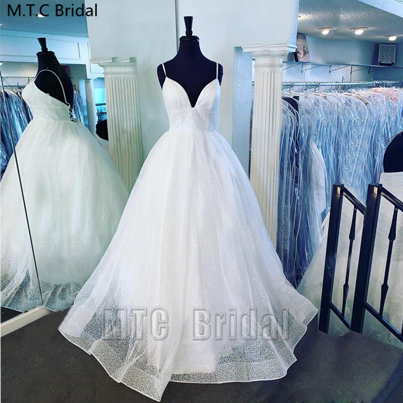Real Photos Glitter White Backless Sexy Prom Dresses Sweetheart Corset Long Special Occasion Dress Girls Graduation Party Gowns