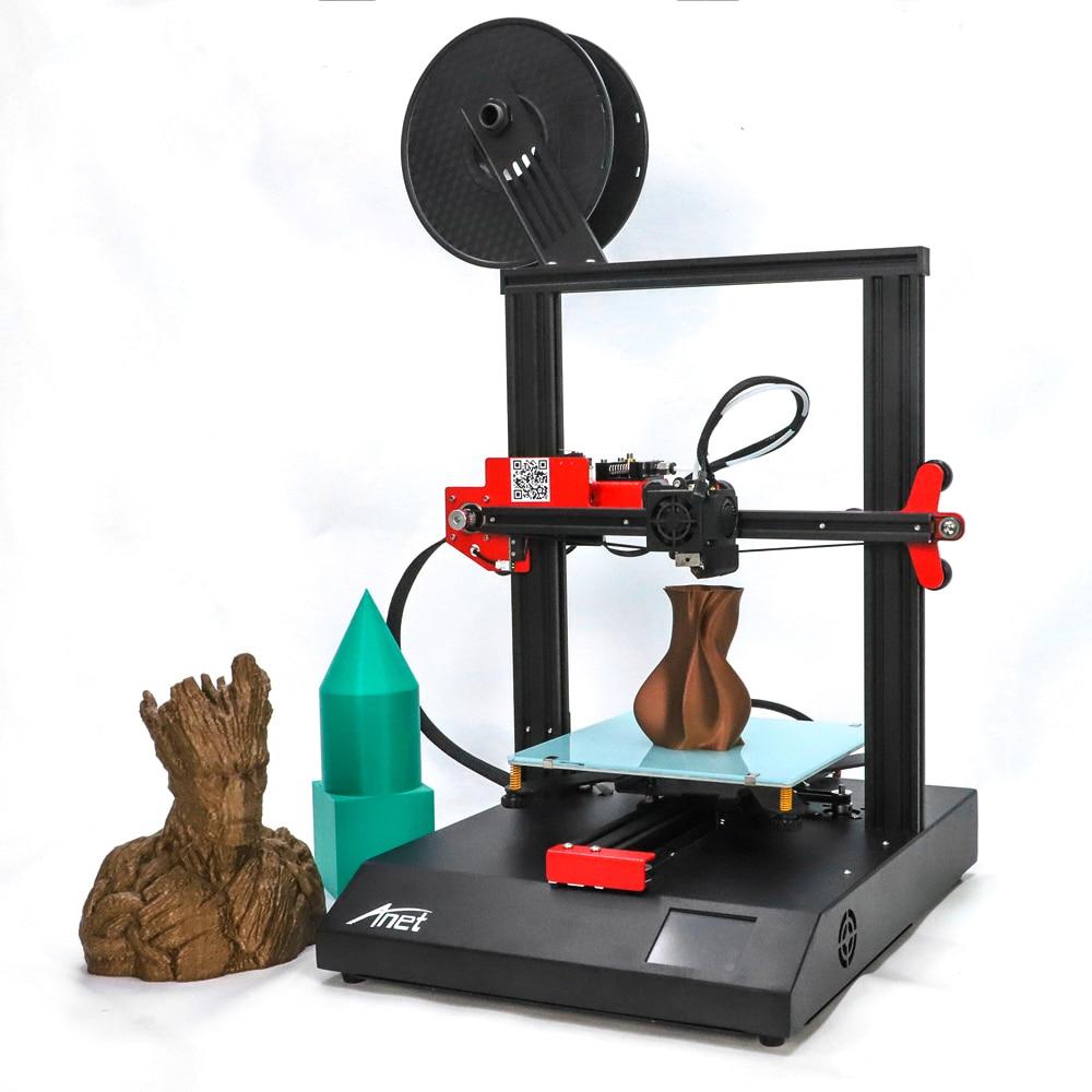 Набор для 3D-принтера Anet ET4 ET4X FDM, высокоточная оправа из алюминиевого сплава «сделай сам», с открытым исходным кодом Marlin