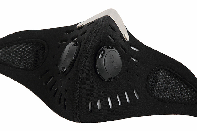 WOSAWE Safety Motorcycles Masks Filter Breathable Dustproof Motorbike Respirator Sports Protection Mouth Face Shield Visor 3