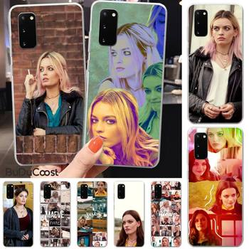 Emma Mackey Maeve Wiley Phone Case For Samsung S5 6 7 8 9 10 S8 S9 S10 plus S10E lite S10-5G S20 UITRA plus image