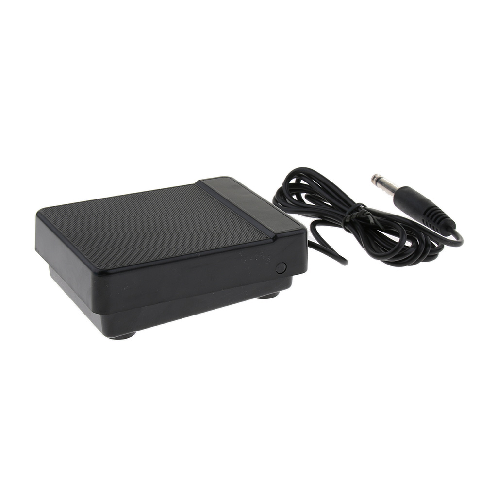 Durable Black 6.35mm Sustain Pedal For 61 Key 88 Key Electronic Piano Part